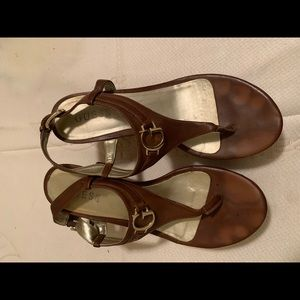 Guess Brown sandals for women's size 8